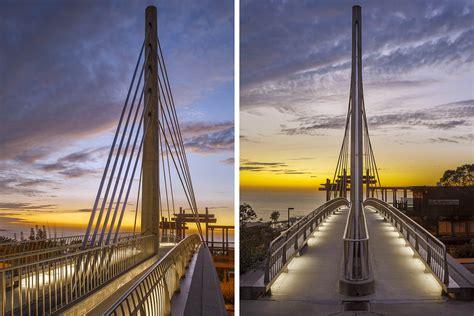scripps crossing pedestrian bridge safdie rabines architects