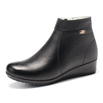 19176 Tassel Casual Black Gray New Arrival 19 Sept designer tassel slip on keep warm casual snow boots newchic