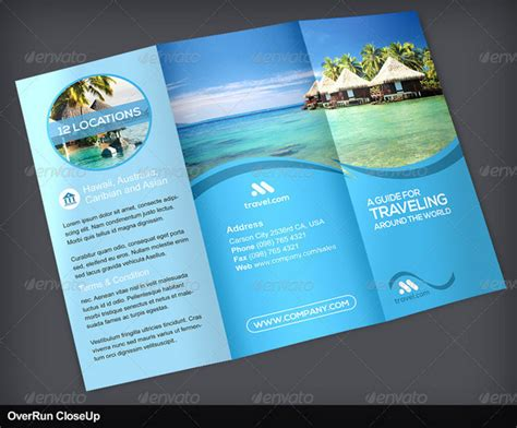 travel and tourism brochure templates free 25 travel and tourism brochure templates