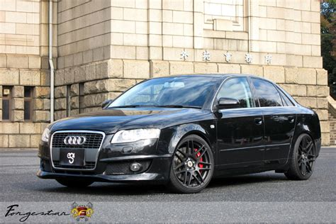 audi a4 matte black b7 black audi a4 with 19 quot forgestar f14 finished in matte