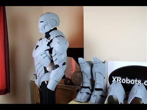 xrobots iron man mk vi life size suit cosplay update
