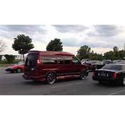 Hightop Conversion Van On Asanti 6s Beatin The Strip  YouTube