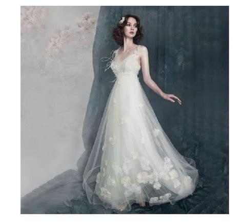 Elfen Brautkleid by Brautkleider Fee Und Flower Style Hochzeitskleid