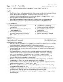 Diversity Consultant Sle Resume by Diversity Consultant Resume