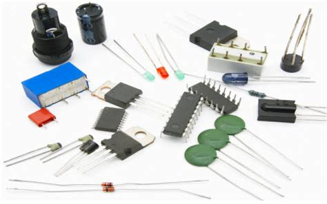 name four different types of resistors electrical and electronic components used in projects