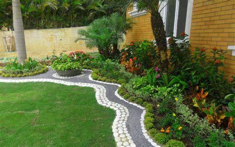 dise帽o de patios y jardines casas decoradas con piedras