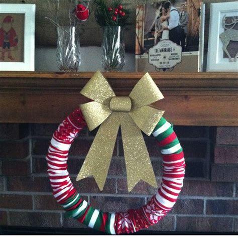 sock wreath sock wreath diy paperblog