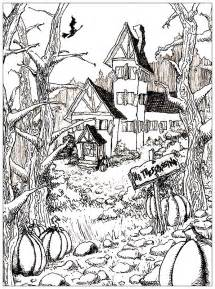 pages scary coloring pages fall and coloring pages