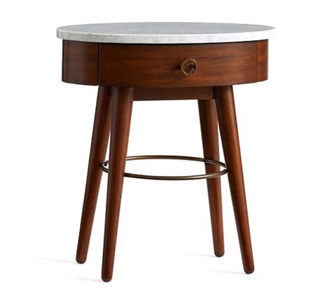 Marble Nightstand by Asher Marble Nightstand Pottery Barn