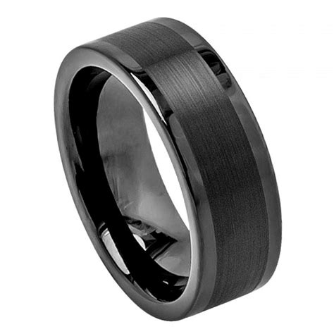 tungsten wedding band s rings wedding rings mens