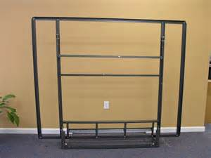 Folding Wall Bed Size Side Folding Murphy Bed Steel Frame Not Wall Mounted Ebay