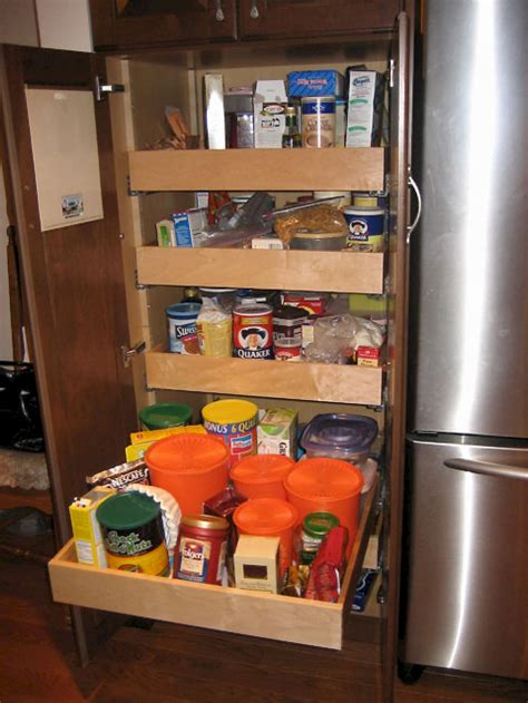 Pull Out Pantry Unit by Convenience Categorized Transitional Kitchen