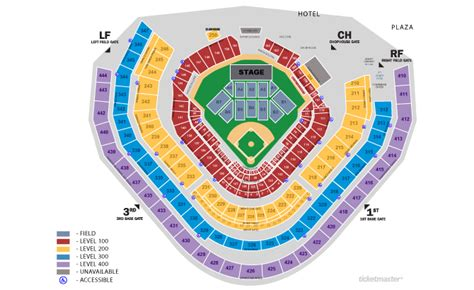 turner field seating chart general admission