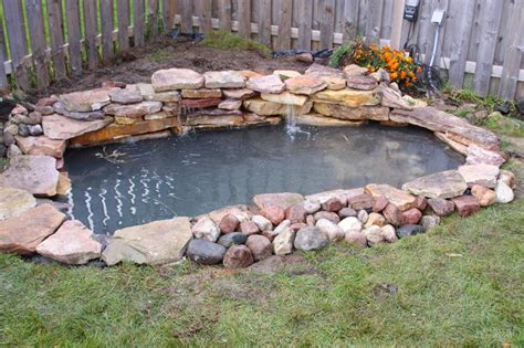 backyard pond builders koi pond construction plans the most common pond