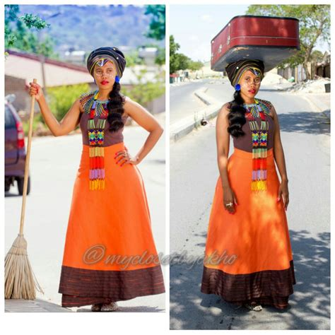 xhosa traditional clothing from my closet by akho 14