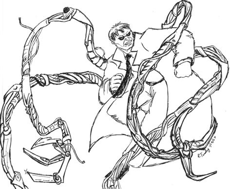 Doc Ock S Lair Page 157 The Superherohype Forums Doc Ock Coloring Pages