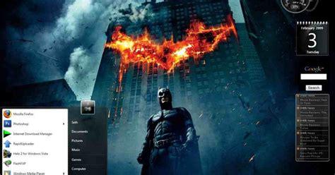psp themes batman dark knight the dark knight theme for windows 7 windows 7 themes
