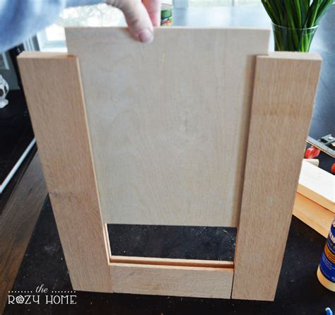 How To Make A Cabinet Door by Remodelaholic How To Make A Shaker Cabinet Door