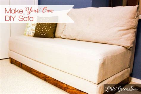 diy sleeper sofa how to make your own couch and diy sofa bed bed