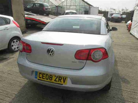 volkswagen 2008 08 vw eos 2 0 tdi convertible damaged salvage spares volkswagen 2008 08 vw eos 2 0 tdi convertible damaged salvage spares