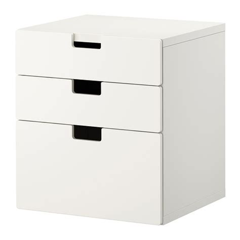 Low Chest Of Drawers Ikea stuva chest of 3 drawers white ikea