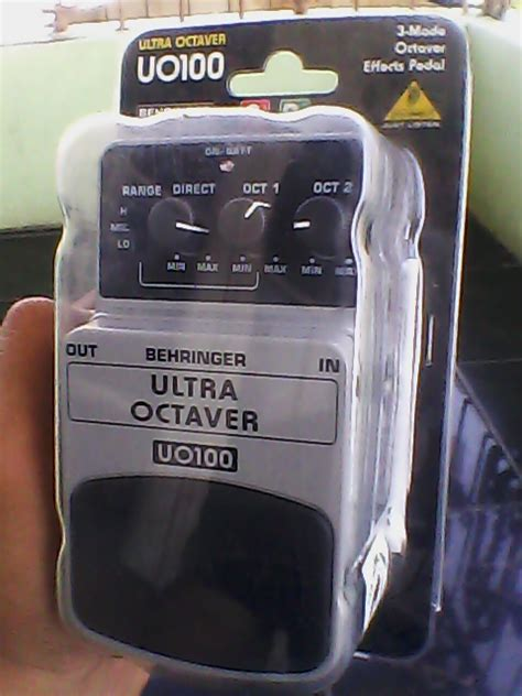 Harga Octaver rmn lounge of behringer s stompbox part iii sold