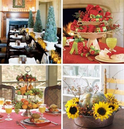 table decorations 18 christmas dinner table decoration ideas freshome com
