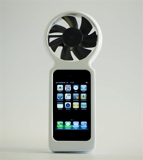 ifan eco friendly wind generator iphone case gadgetsin