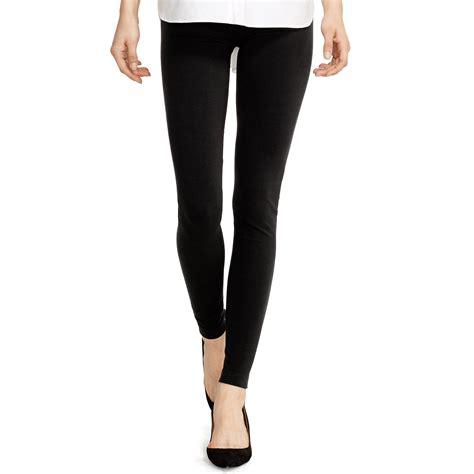 Legging Polos T3009 1 polo ralph stretch cotton blend legging in black polo black lyst