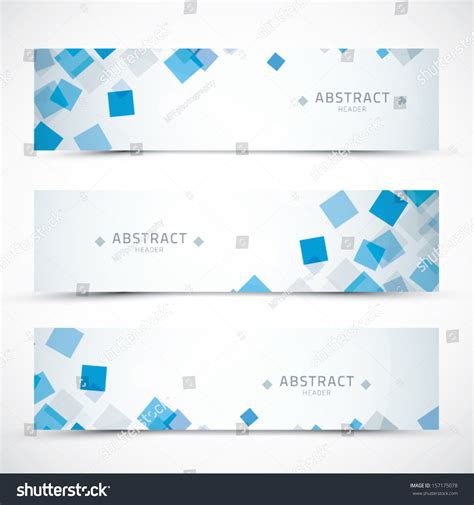 header design stock photos images pictures shutterstock three blue business abstract banner headers stock vector