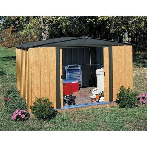 6 Foot Shed Arrow Woodlake 8 X 6 Foot Storage Shed Free Shipping