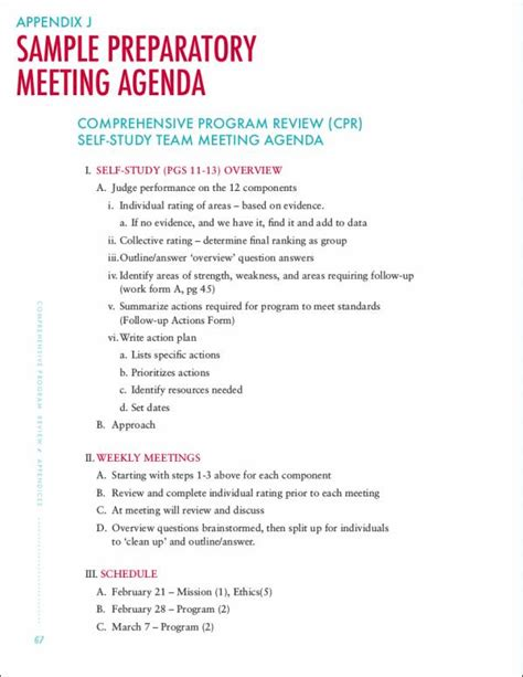 14 meeting itinerary templates sle