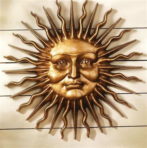 Metal Sun Wall Decor by Wall Ideas Design Faces Sun Wall Metal Classic