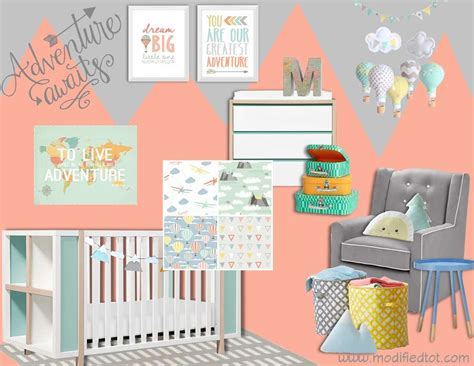 Travel Themed Nursery Decor Travel Themed Nursery Bedding Thenurseries