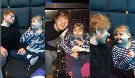 ed sheeran mom ed sheeran performs mini concert for young girl with rett