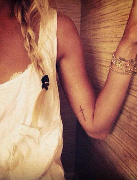 thin cross tattoo on wrist best 25 cross on wrist ideas on cross