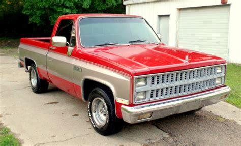 complete light trucks jackson ms 1982 chevy gmc sierra 1500 1 owner swb truck w esc v8 350