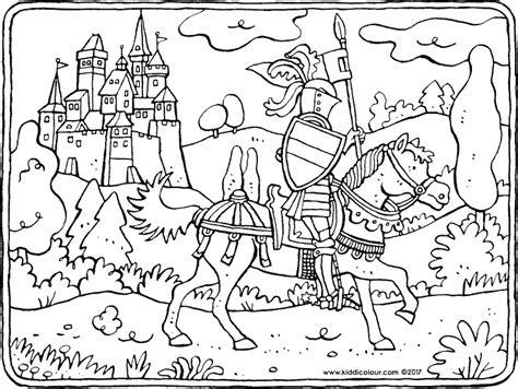 Pferde Kleurprenten Die Er Echt Toe Doen Kiddi Kleurprenten Coloriage De Chevalier