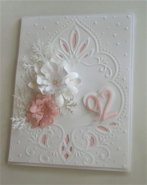 Images Of Beautiful Handmade Cards - beautiful handmade birthday card for 92 years grammie