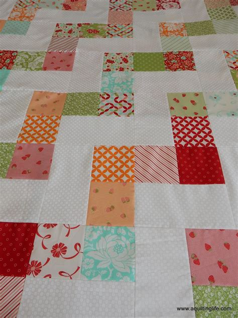 simple pattern quilt simple quilts no bake jolly bar pattern a quilting life