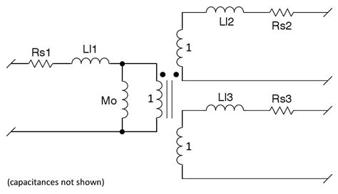 capacitor ztb455e transformer inductance primary 28 images transformer reset winding in single switch forward