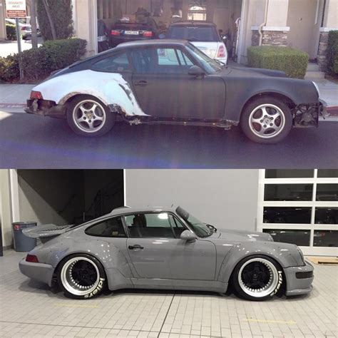 porsche before and after rwb before and after alfa romeo porsche and more cars