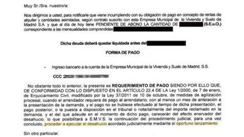 carta oficial requerimiento desahucios de 171 protecci 243 n oficial 187 abc es