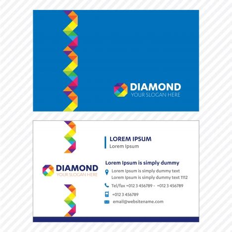 network business card gallery business card template