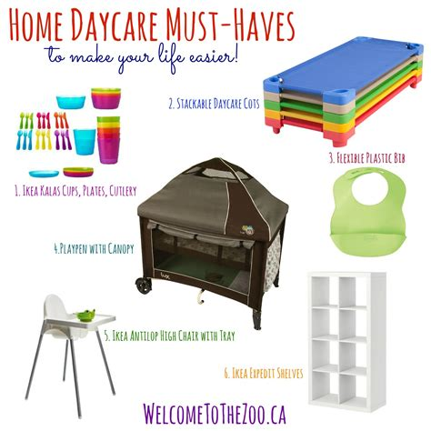 must haves for home daycare welcome to the zoo