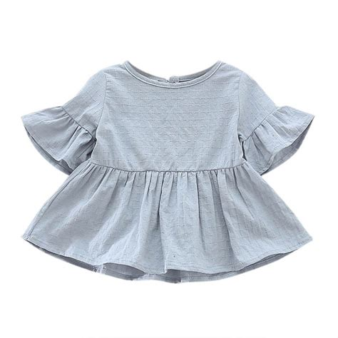 Quicksilver Maven Blue blouse for shirts summer baby shirt cotton