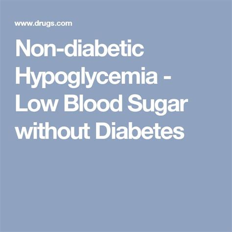 Has Low Blood Sugar by 17 Best Ideas About Low Blood Sugar Symptoms On