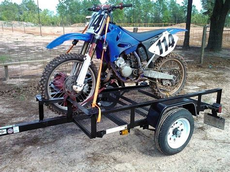 motocross bike trailer bike n trailer sec114 motocross pictures vital mx