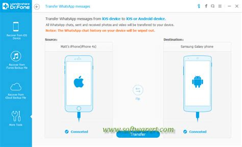 tutorial whatsapp migrator whatsapp transfer iphone to android