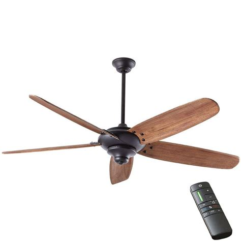 black ceiling fan home decorators collection altura dc 68 in indoor matte
